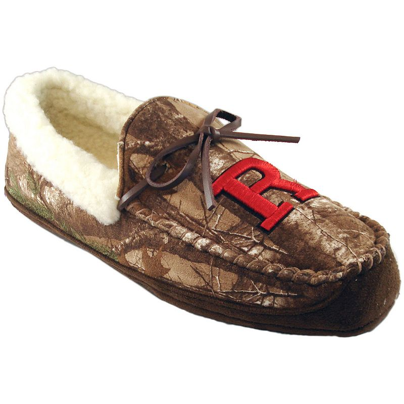 Men's Rutgers Scarlet Knights Juno Realtree Camouflage Moccasin