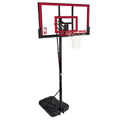 Spalding 48-in. Polycarbonate Portable Basketball Hoop by