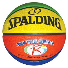 Spalding 27.5-in. Rookie Gear Basketball Youth by