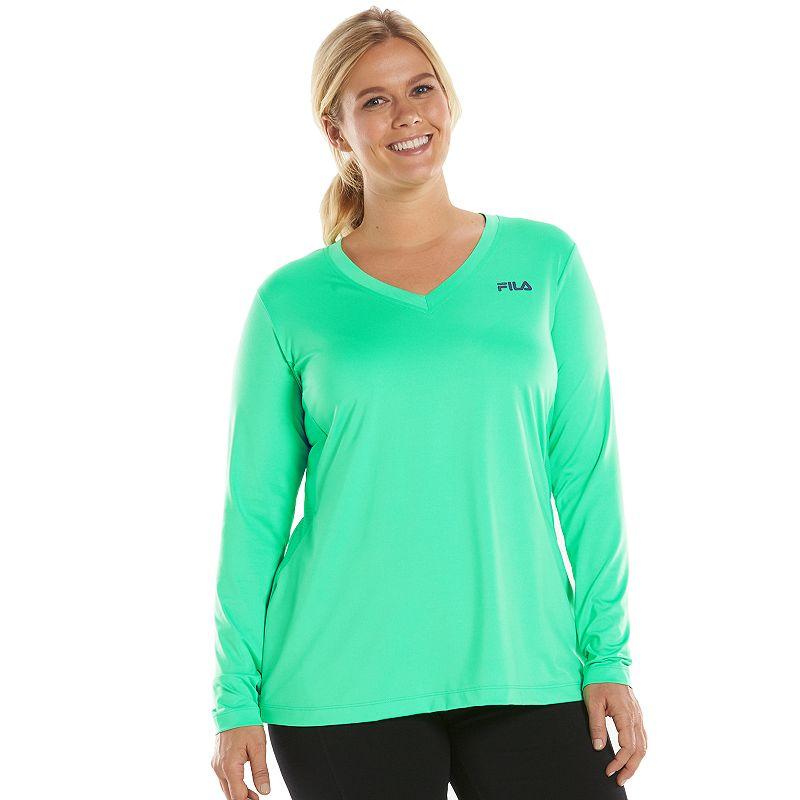 Plus Size FILA SPORT® Workout Tee