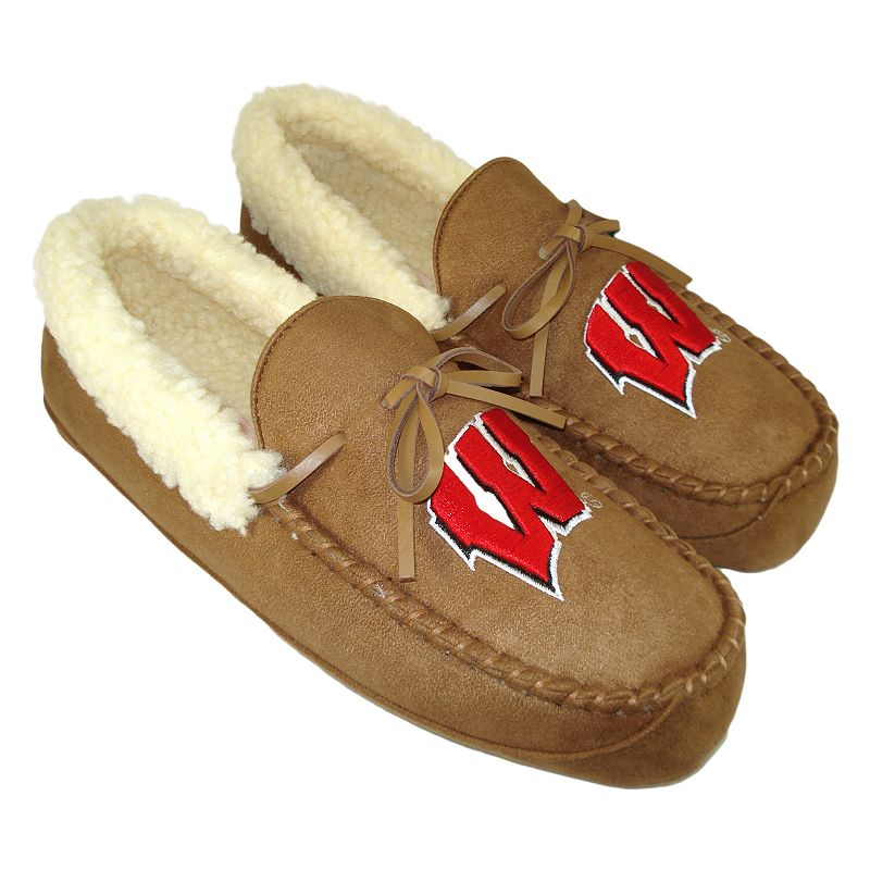 Men's Wisconsin Badgers Juno Moccasin
