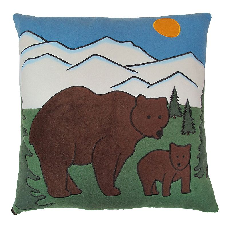 SONOMA Goods for Life™ Mountain Bear Throw Pillow