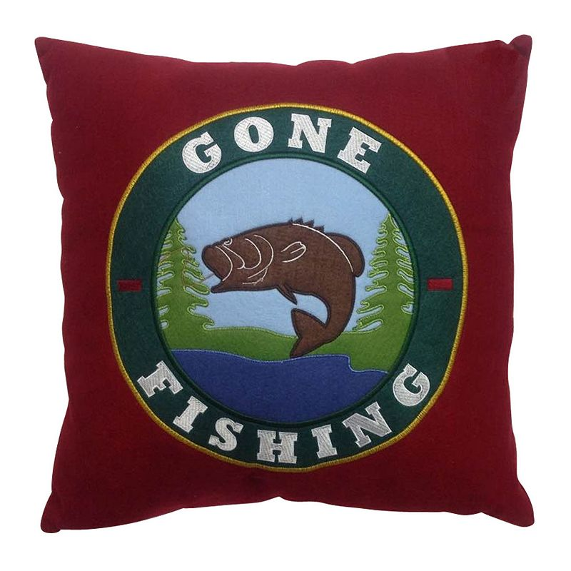 SONOMA Goods for Life™ ''Gone Fishing'' Throw Pillow