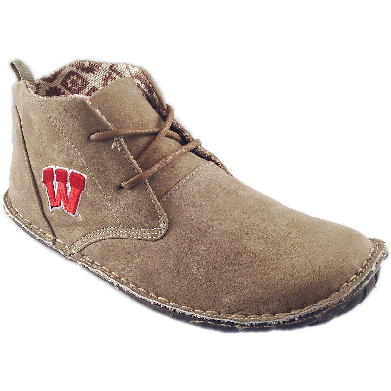 Men's Wisconsin Badgers 2-Eye Chukka Boots