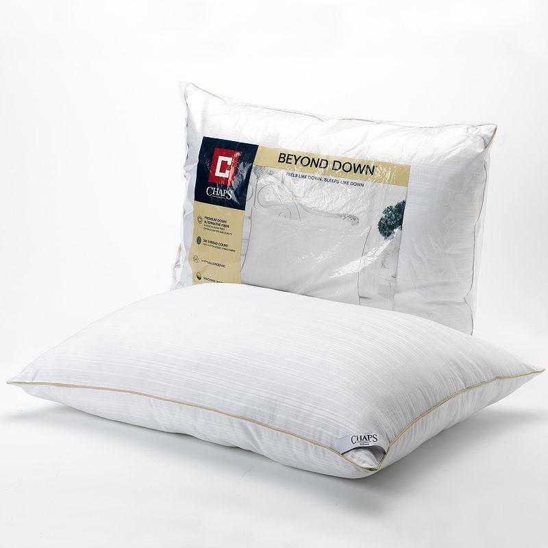 Chaps Home Medium Beyond Down Down-Alternative Pillow