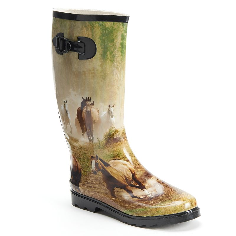 Itasca Misty Pony Women's Rain Boots