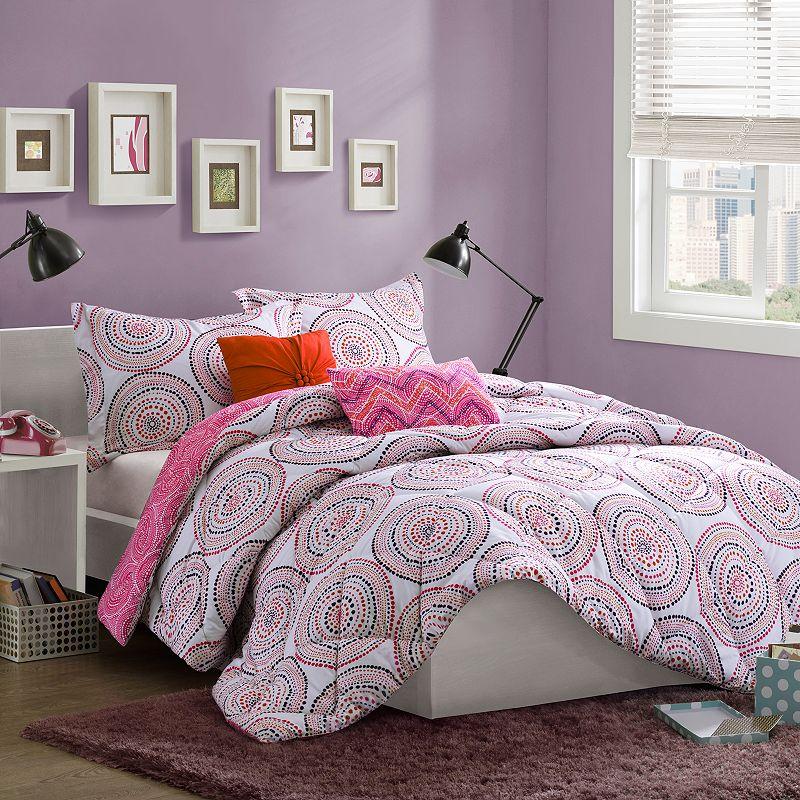 Mi Zone Amber Softspun Reversible Comforter Set