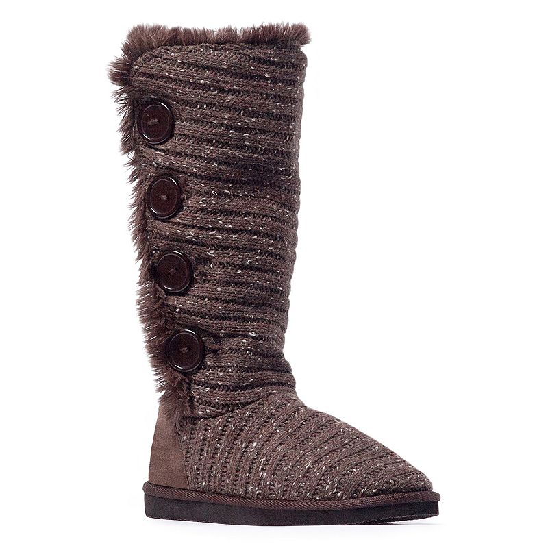MUK LUKS Malena Women's Speckled Boots