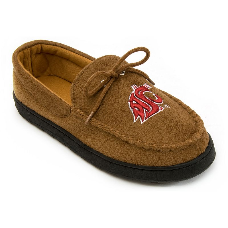 Men's Washington State Cougars Microsuede Moccasins