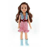 Paradise Horses Cowgirl Plaid Doll