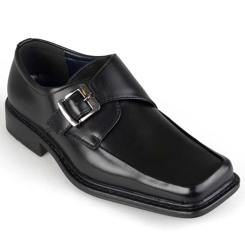 Oxford and Finch Men's Square Toe Monk Loafers