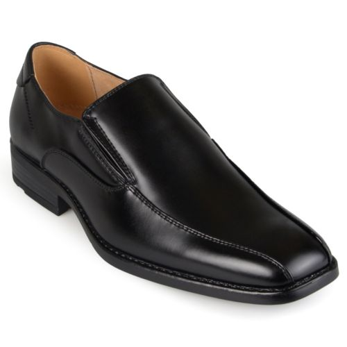 Oxford and Finch Men's Square Toe Slip-on Dress Shoes