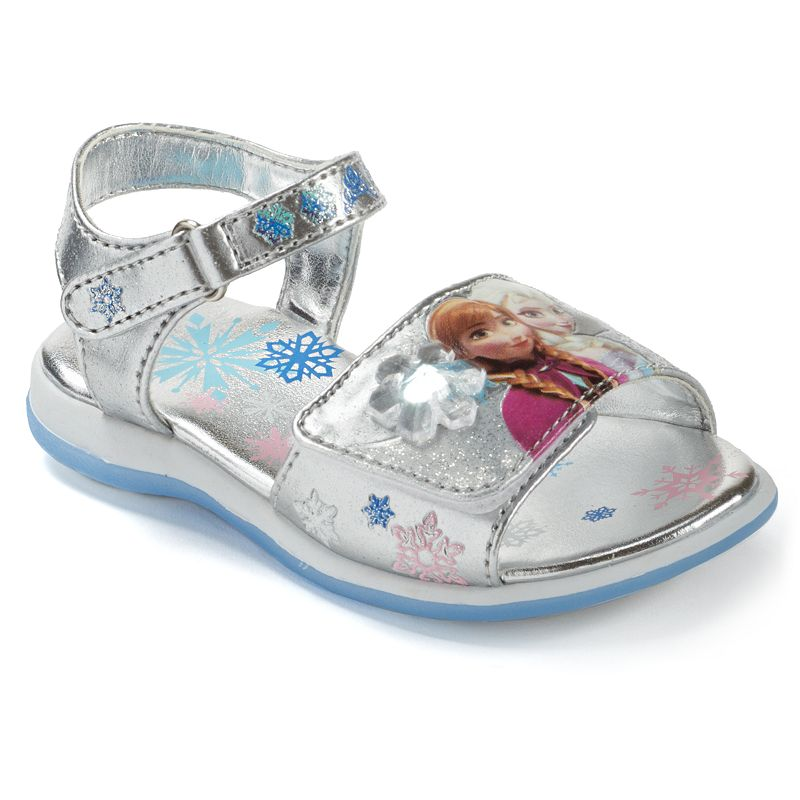 Disney's Frozen Anna & Elsa Toddler Girls' Light-Up Sandals