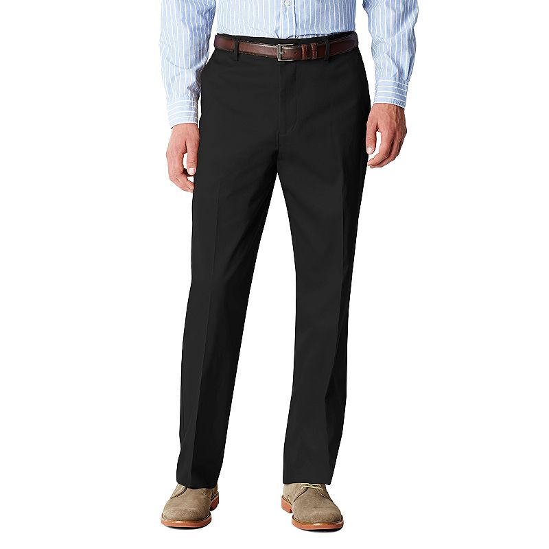 Men's Dockers® Iron-Free Stretch D3 Relaxed-Fit Flat-Front Pants
