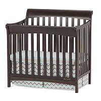 Child Craft Ashton Mini 4-in-1 Convertible Crib & Mattress
