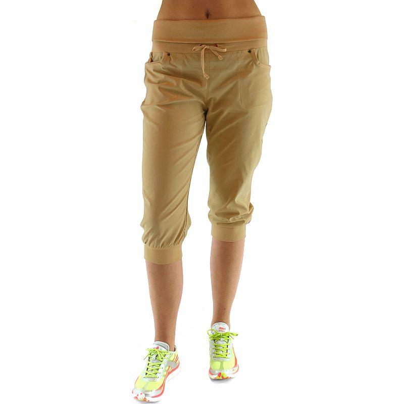 Ryka Ribbed Hiking Capris - Women's Plus Size (Grey)
