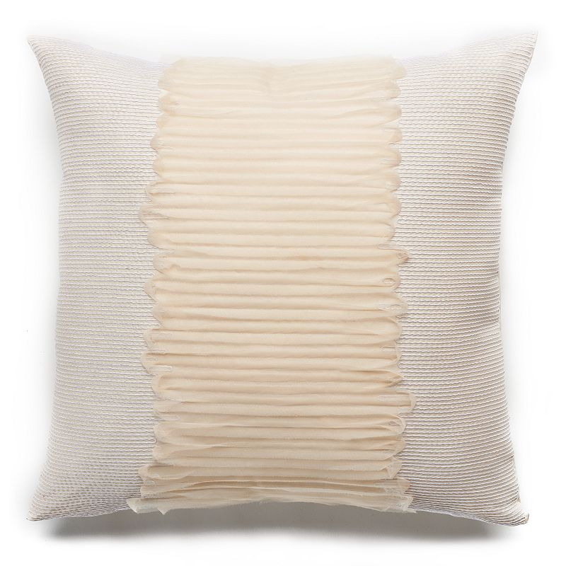 Jennifer Lopez bedding collection Estate Layered Rope Throw Pillow