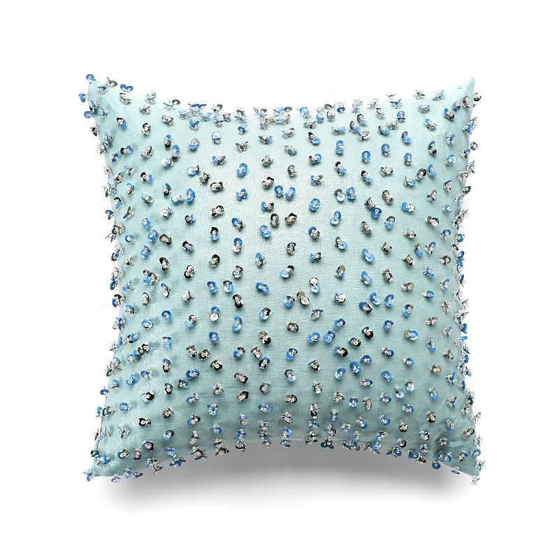 Jennifer Lopez bedding collection Estate Caviar Clusters Throw Pillow