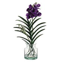 Artificial Vanda Orchid Floral Arrangement