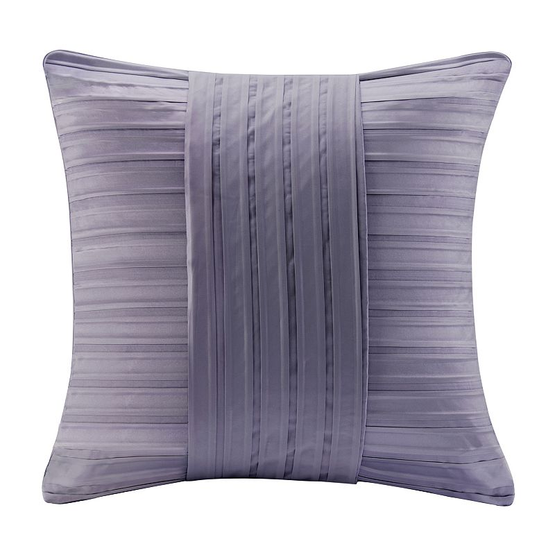 Kohls Purple Throw Pillows : Madison Park 20 x 20 Pleated Charmeuse Throw Pillow
