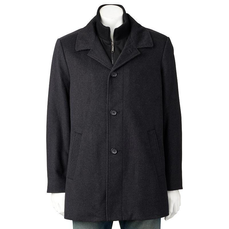 Men's Billy London Slim-Fit 34-in. Wool-Blend Car Coat