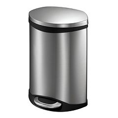 Click here to buy EKO Shell 6-Liter Hands-Free Trash Can.