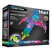 Laser Pegs Space Fighter Construction Kit
