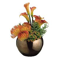 Artificial Protea & Agave Floral Arrangement