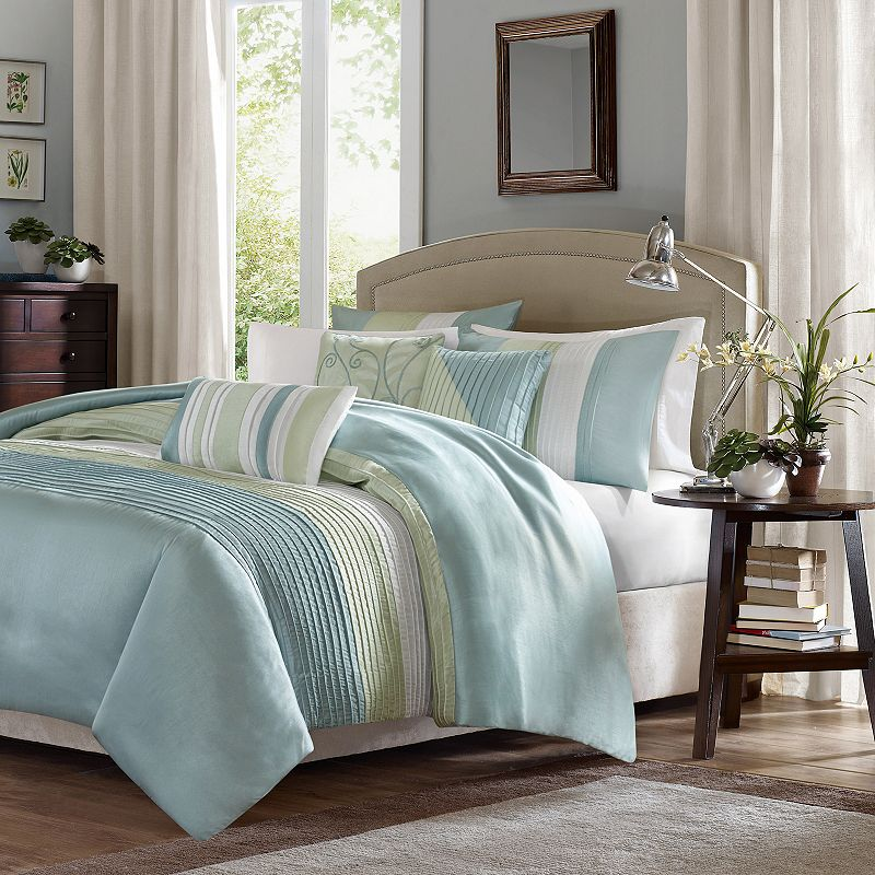 Madison park chester 7 pc comforter set for Kohl s cal king bed set