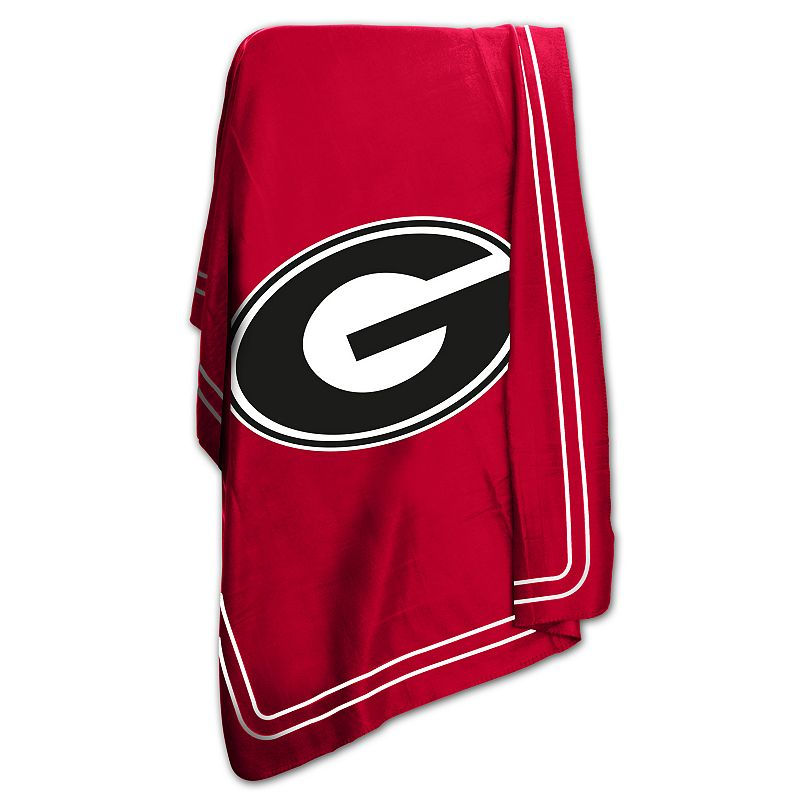 Logo Brand Georgia Bulldogs Classic Fleece Blanket