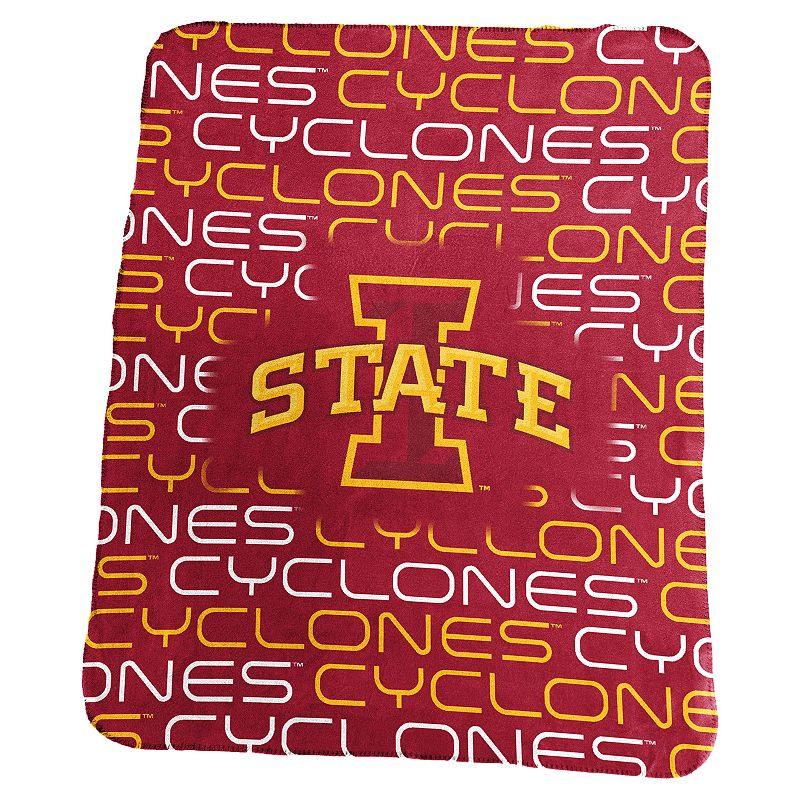 Logo Brand Iowa State Cyclones Classic Fleece Blanket