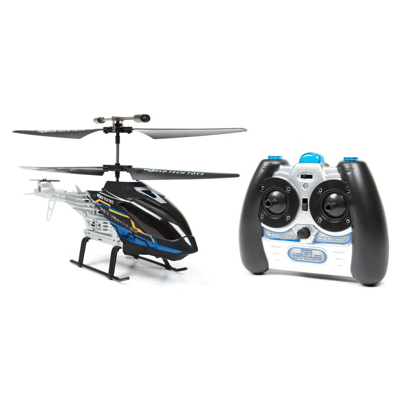 World Tech Toys Hercules Unbreakable 2ch RC Helicopter, Black thumbnail