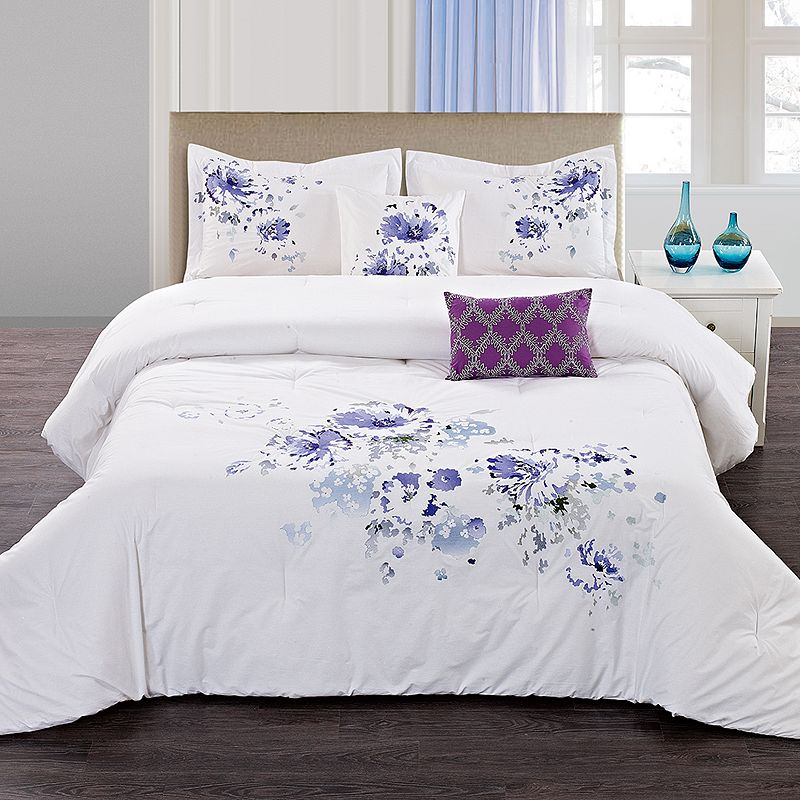 Floral Spray 5-pc. Comforter Set