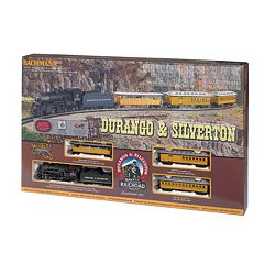 Bachmann Durango & Silverton HO Scale Electric Train Set by