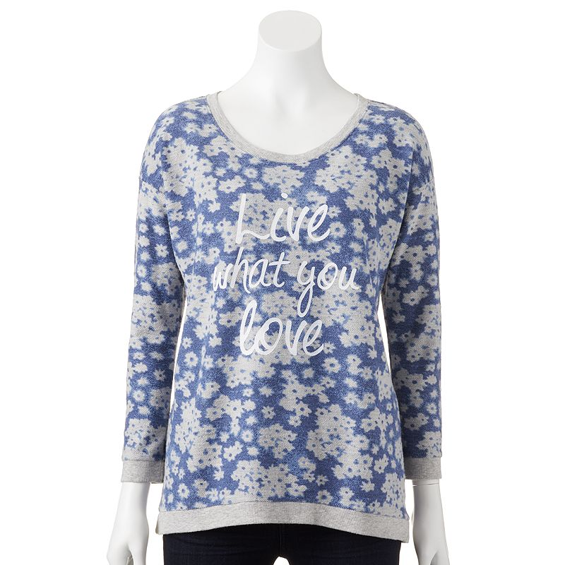 SONOMA Goods for Life™ French Terry Sweatshirt - Women's
