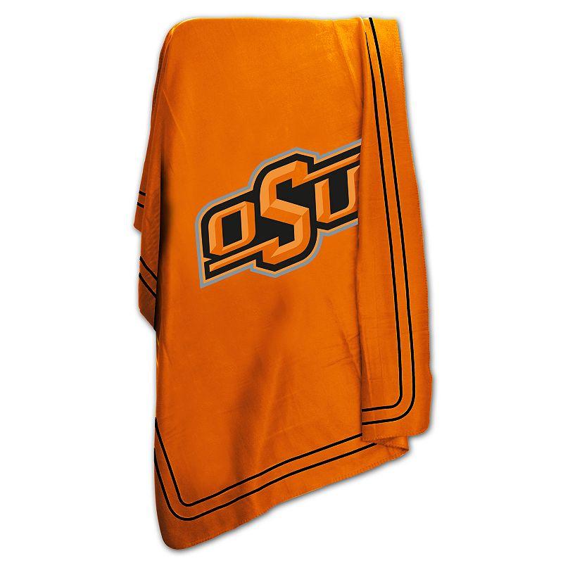 Logo Brand Oklahoma State Cowboys Classic Fleece Blanket