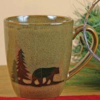 DEI Woodland River Bear Mug