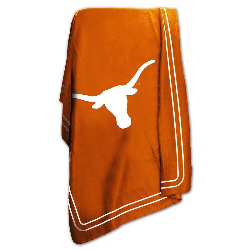 Logo Brand Texas Longhorns Classic Fleece Blanket