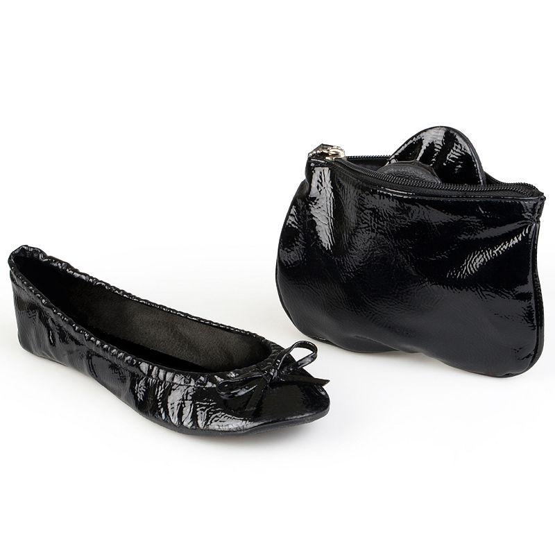 Sidekicks Women's Foldable Ballet Flats