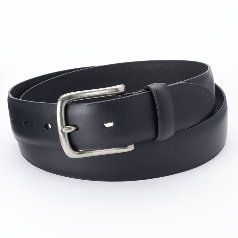 Men's Levi's Black Batwing Leather Belt