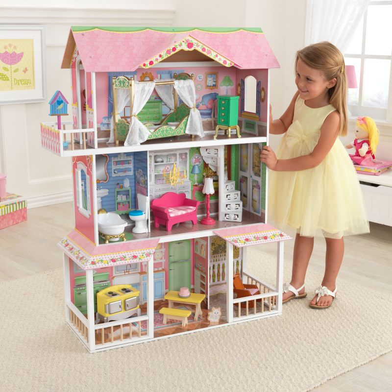 KidKraft Sweet Savannah Dollhouse, Multicolor