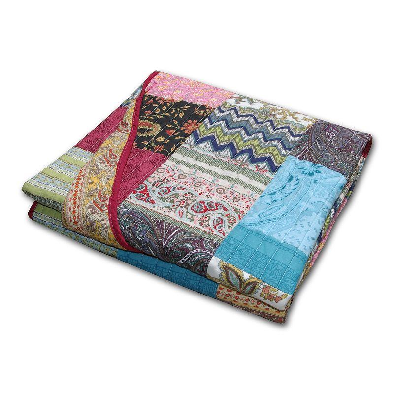 New Bohemian Quilted Throw
