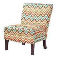 Madison Park Hayden Chevron Accent Chair