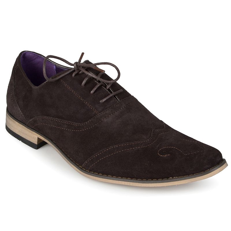 Oxford and Finch Men's Wingtip Oxford Shoes