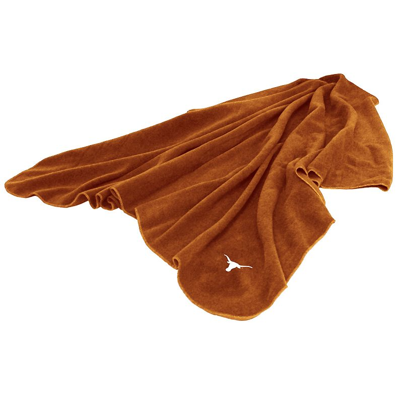 Logo Brand Texas Longhorns Fleece Throw Blanket