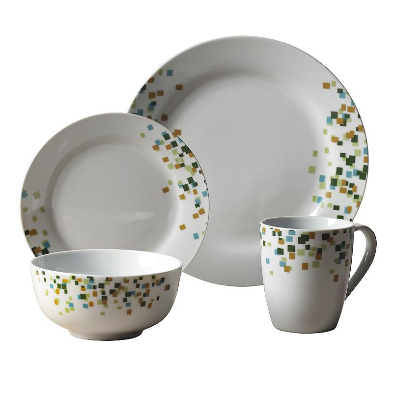 Tabletops Gallery Cadiff 16-pc. Dinnerware Set