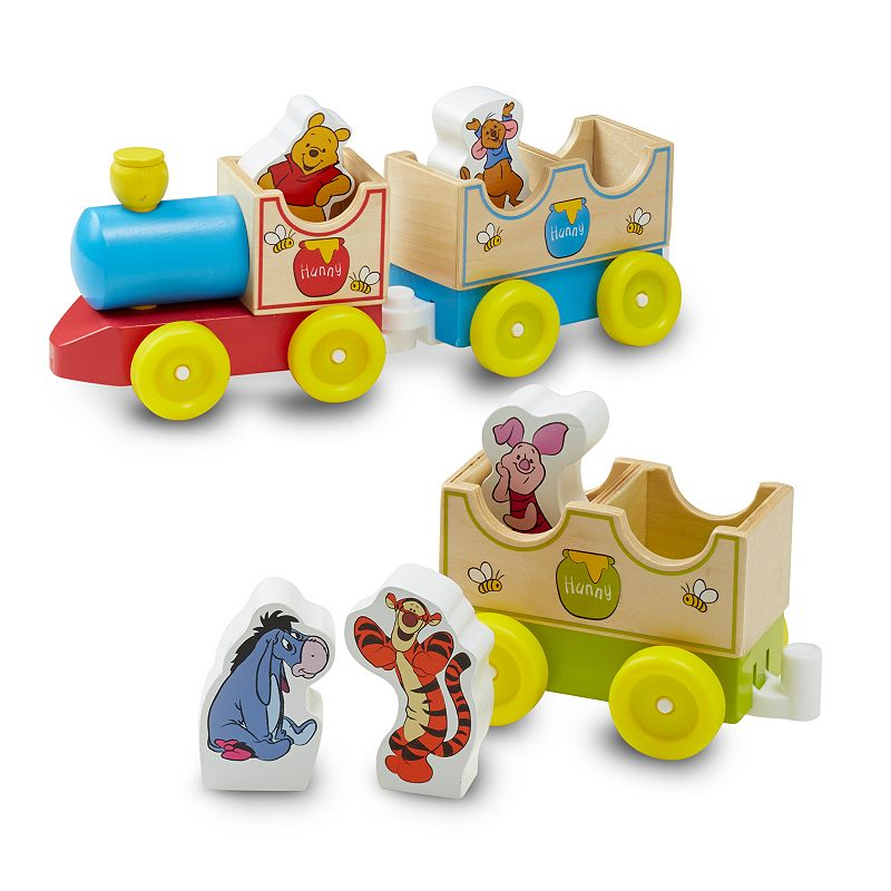 Disney Winnie the Pooh All Aboard Wooden Train by Melissa and Doug