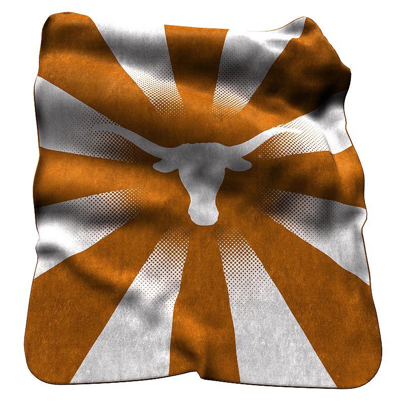 Logo Brand Texas Longhorns Raschel Throw Blanket