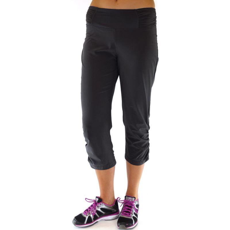 Plus Size Plus Size Ryka Motion Yoga Capris, Women's, Size: 2X, Black