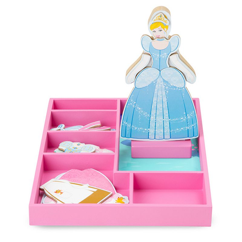 Disney Princess Cinderella Wooden Magnetic Dress-Up Doll by Melissa and Doug